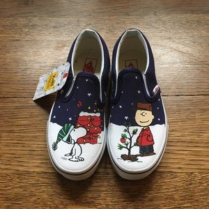 Vans kids Christmas Peanuts Shoes
